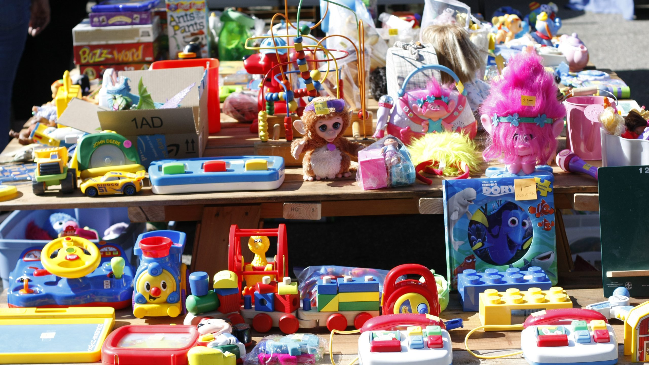 Header Image - Thank You For All The Garage Sales!